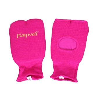 Elasticated Pink Hand Mitts
