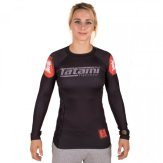 "Tatami Ladies ""Butterfly"" Long Sleeve Rash Guard"