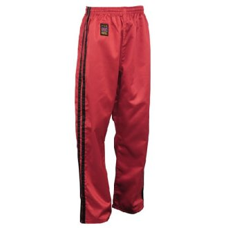 Full Contact Trouser - Red W/ 2 Black...