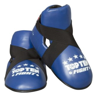 Top Ten Semi contact Point Sparring Boots - Blue