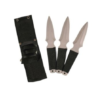 Throwing Knives: Larger Version - Set of 3