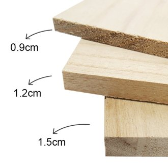 Paulownia Wooden Breaking Board - PRE...