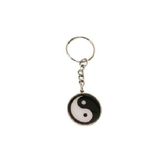 Ying and Yang Key Chain