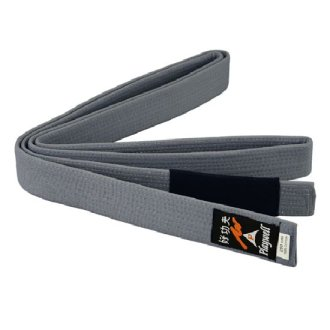 Childrens Grey Ju Jitsu Belt - Plain