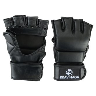 Krav Maga Leather Black Grappling &...