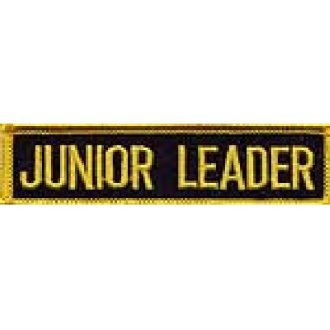 Merit Patch: Student: Junior Leader P101
