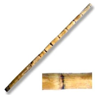 Escrima Stick: Authentic Bamboo Root...