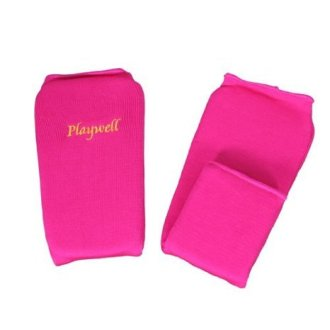 Elasticated Pink Shin Instep Pads