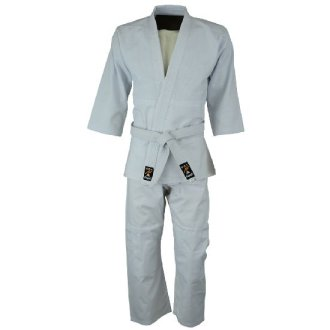 Judo Uniform : Bleached ( White ) -...