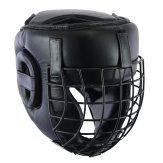 Full Contact Leather Light Weight Escrima Helmet