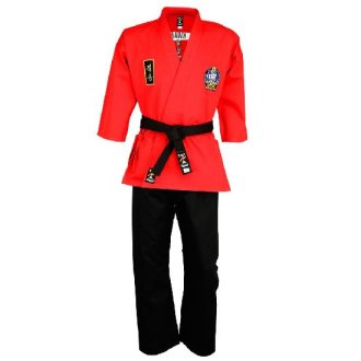 Official Choi Kwang Do Uniform Red Demo