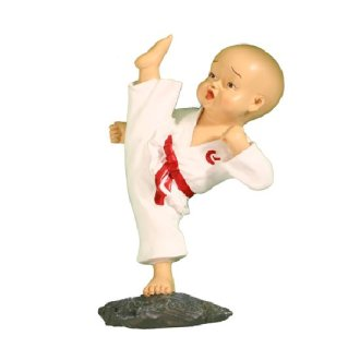 Karate Figure High Kick No 1 - H919