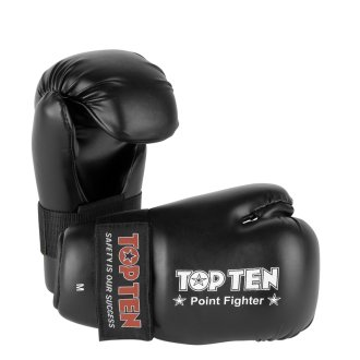 Top Ten Semi Contact Point Sparring Gloves Black