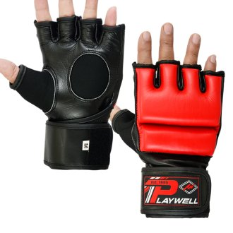 Hybrid MMA Leather Combat Grappling...