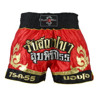 Muay Thai Competition Tribal Fight shorts - Red