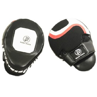 Krav Maga Curved Leather Shock Focus Pads