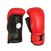 Coaching Boxing Gloves: Leather