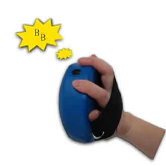 Childrens Small Round Blue Focus Pads W/ Sound - Special Offer