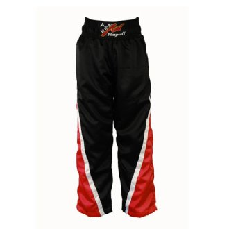 Full Contact Competition Champion Trousers - Black/Red