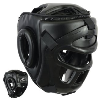 Headguard with Removeable Face Grille -...