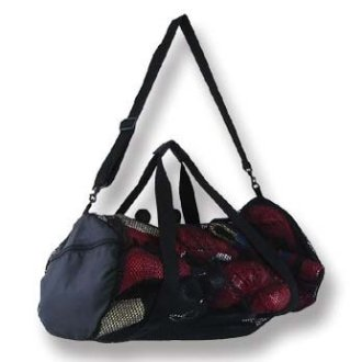 Mesh Tote Round Sports Bag