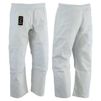 Judo Trousers: Bleached (White) 8oz -...