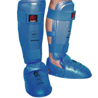 WKF Approved Karate Shin Instep Guards