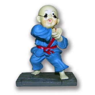 Figure: Shaolin Blue Uniform Monk - NS3