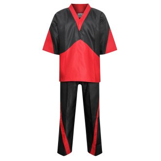 Elite Freestyle V-Neck Team Uniform - Black/Red