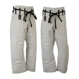 Elite Competition Grade White Ju Jitsu Trousers