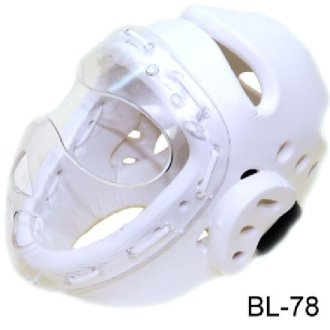 Dipped Foam Headguard with Acrylic Full Face Mask