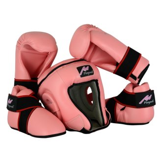 Ladies Pink Semi Contact Sparring Set