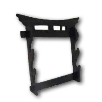 Tori Gate Wall Mounted Sword Display - 2 tier
