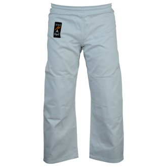 Judo Trousers: Bleached (White) 8oz
