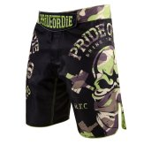 "Pride or Die MMA Black ""Raw Training"" Camo Fight Shorts"
