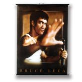Large Bruce Lee Wall Poster Scroll: NO10