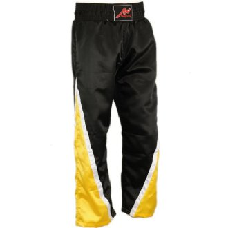 Full Contact Competition Champion Trousers - Black/Yellow