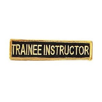 Trainee Instructor Patch: P125