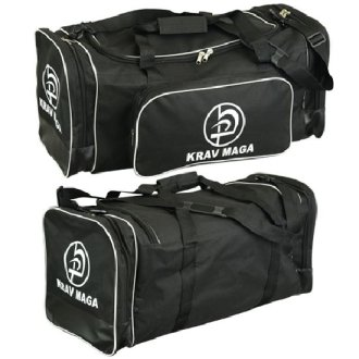 Krav Maga Black Sports Duffel Bag