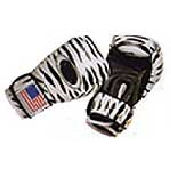 Boxing Gloves: Printed: Dalmation Design Leather
