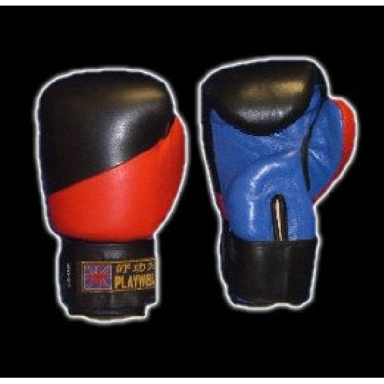 3 Tone Pu Boxing Gloves