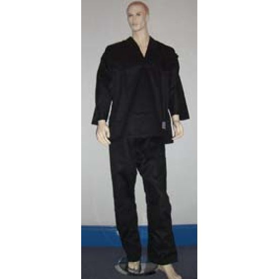 Karate Black Club V-Neck Uniform