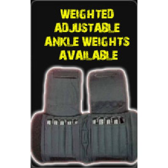 Weighted Adjustable Ankle Weights Available