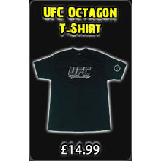 UFC Black Octagon T-Shirt