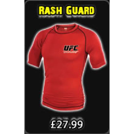 Ufc Short Sleeve Rash Guard