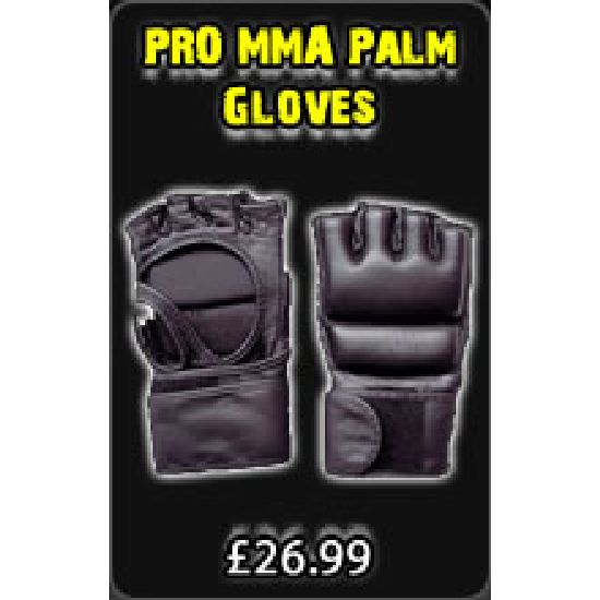 PRO MMA Palm Gloves Double Pad