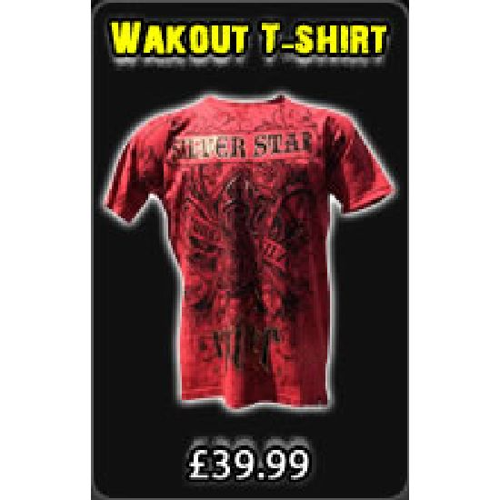 Silver Star Anderson Silva Wakout T - shirt