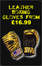 Leather Boxing Gloves From £16.99