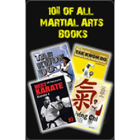 10% Of all Martial Arts Books