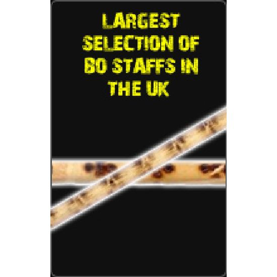 Largest Selection of Bo Staffs In The uk